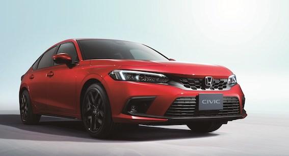 HONDA parāda pilnīgi jauno Honda Civic 5D hibrīdu