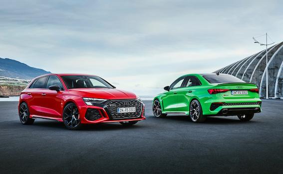 Jaunais Audi RS 3 - ar spēju ieskrieties no 0 līdz 100 km/h 3,8 sekundēs