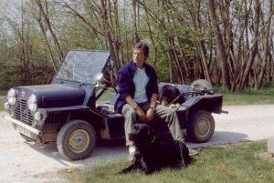 Alain Delon Austin Mini Moke