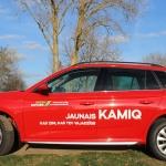 Iepazīstamies ar jauno Škoda Kamiq: kad cena un kvalitāte ir uz viena viļņa!