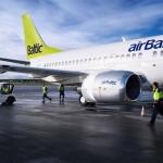 airBaltic sanem Aviacijas centra CAPA gada regionalas lidsabiedribas apbalvojumu