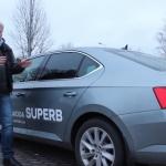 Videoapskats: Škoda Superb – limuzīns, kurš teorētiski atbilstu biznesa klases statusam!