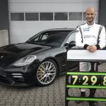 Porsche Panamera Nirburgringas apļa laika rekords reprezentācijas automobiļu kategorijā