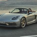 Četri litri, 100 km/h vien 4 sekundēs un tikai 1250 eksemplāri – Porsche Boxster 25 years