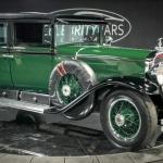 Seno laiku gangstera Ala Kapones vēsturiskais spēkrats Cadillac V8 Model 341 Town Sedan!
