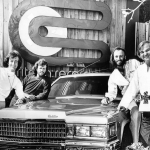 Slavenās brāļu grupas Bee Gees muzikantu autoparks!